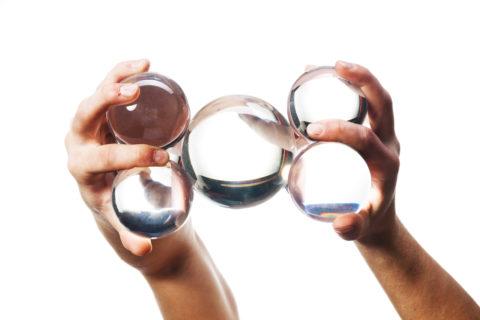【最も解り易い】コンタクトジャグリング基礎講座 - マルチボール編 –